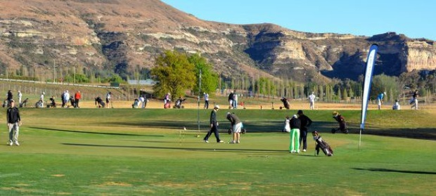 golf in clarens, free state, south africa