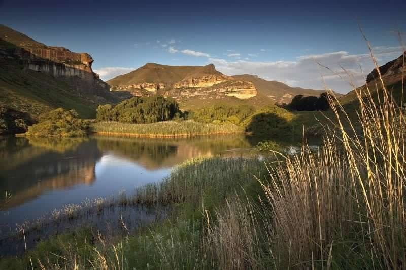 the majestic maluti mountain range and the activities it offers in clarens