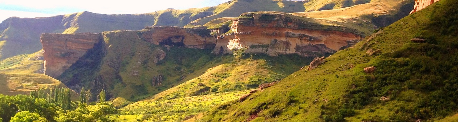 Golden Gate near Clarens